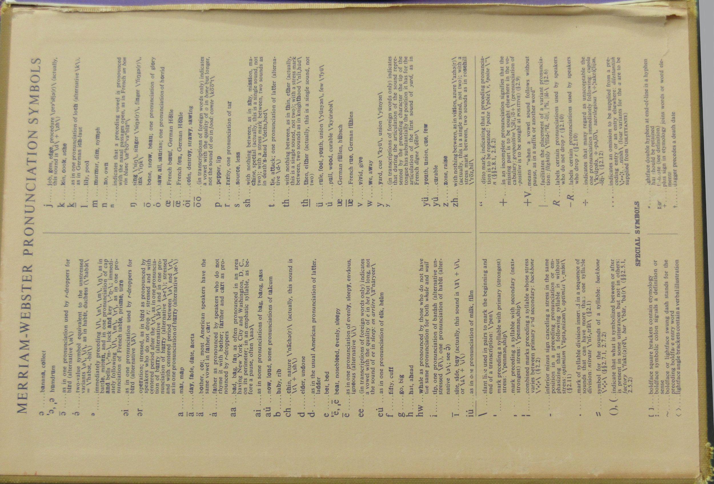"""Purse & Shoe Book (with Pronunciation Symbol Guide)"" c2016"