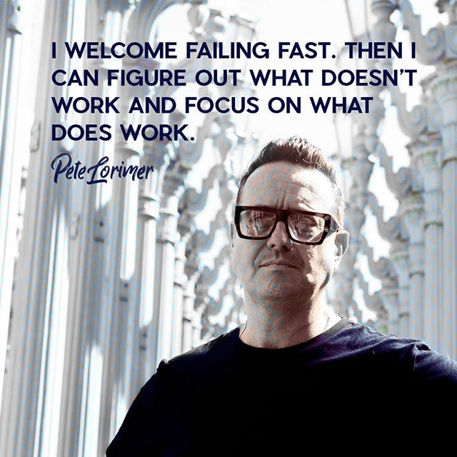 """I'm not scared of failing. I am scared of wasting time. You'll never get it back. I've never ever regretted running full steam ahead and getting knocked down. Time is not to be wasted, friends. You'll regret not trying more than you'll regret failing. Trust me on this. Hit that """"save"""" button to keep this as a reminder to go for it.  Tag someone who could use this today  Thanks for being part of the rebellion and for being here ❤️ Pete - - - - #entrepreneurmind #successdriven #entrepreneurtips #successfulmindset #business #truthbomb #mindset #entrepreneurship #businessowners #businesslife #successcoach #motivationquotes #wisdom #truth #hustle #goals"""
