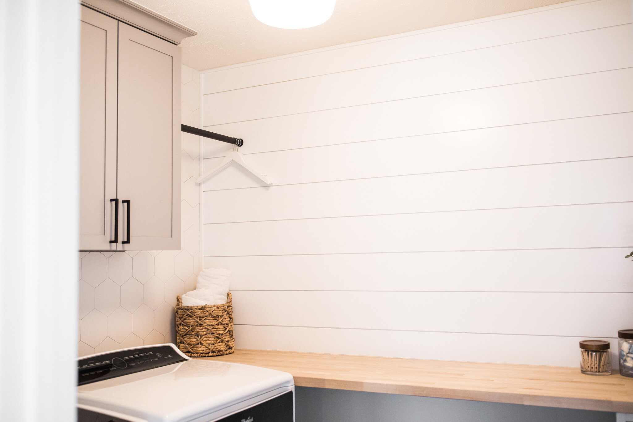 Modern Farmhouse Laundry Room Reno For Small Spaces Laurenda Marie