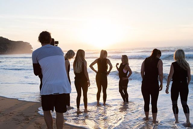 BTS with @viveactiveau, such a perfect morning ☀️🌈