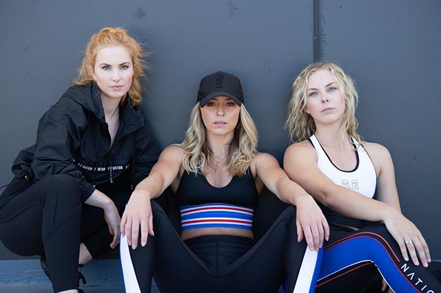 Ready to drop an album 🥊 Another successful shoot with @viveactiveau showing off the latest @p.e.nation 🔥