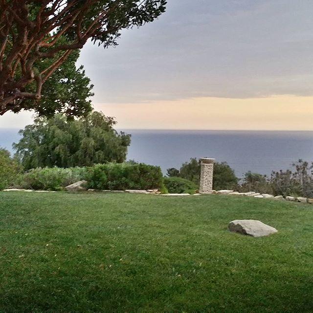 Sunrise at my house in Malibu#malibucalifornia
