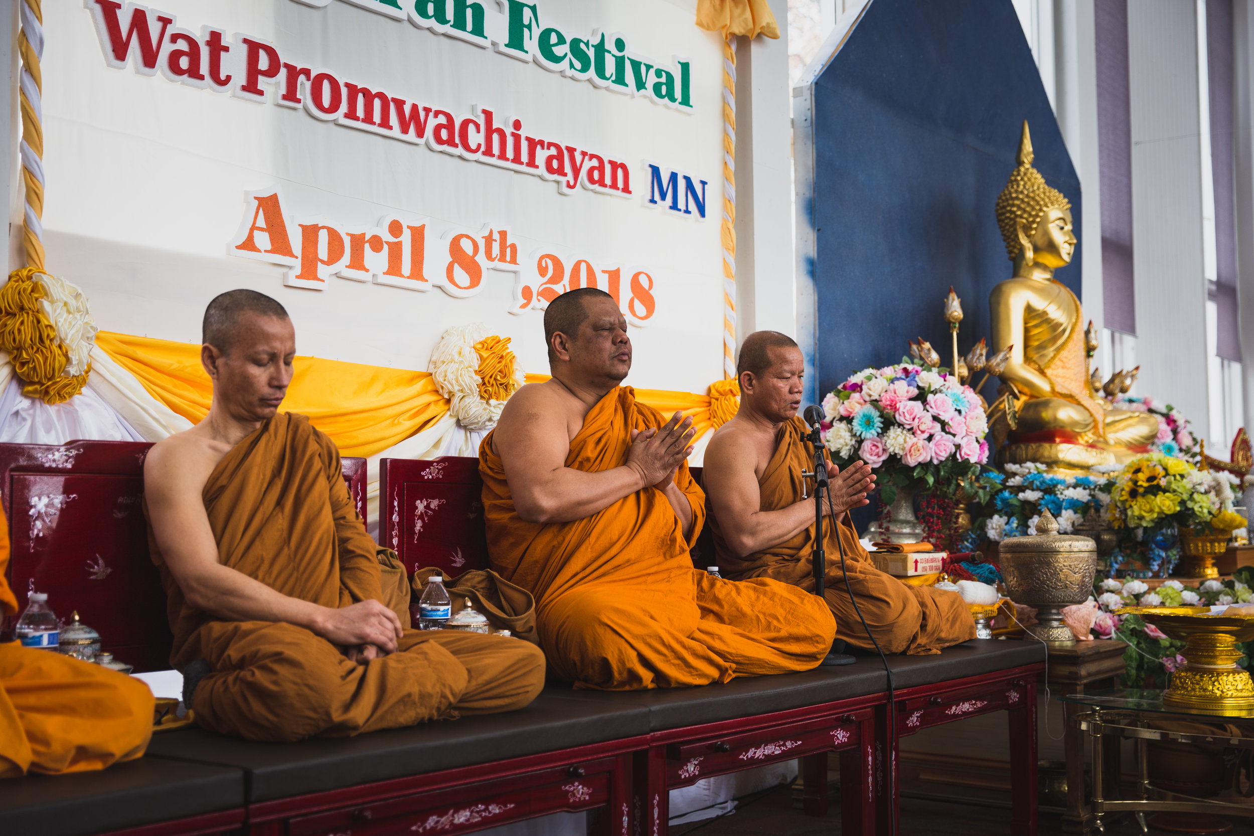 Sprinkling Buddha statues with water is part of the purification tradition. - Young people often douse each other in water as well, but not so much here in Minnesota in the snow. Put April 13th in Thailand on your bucket list.
