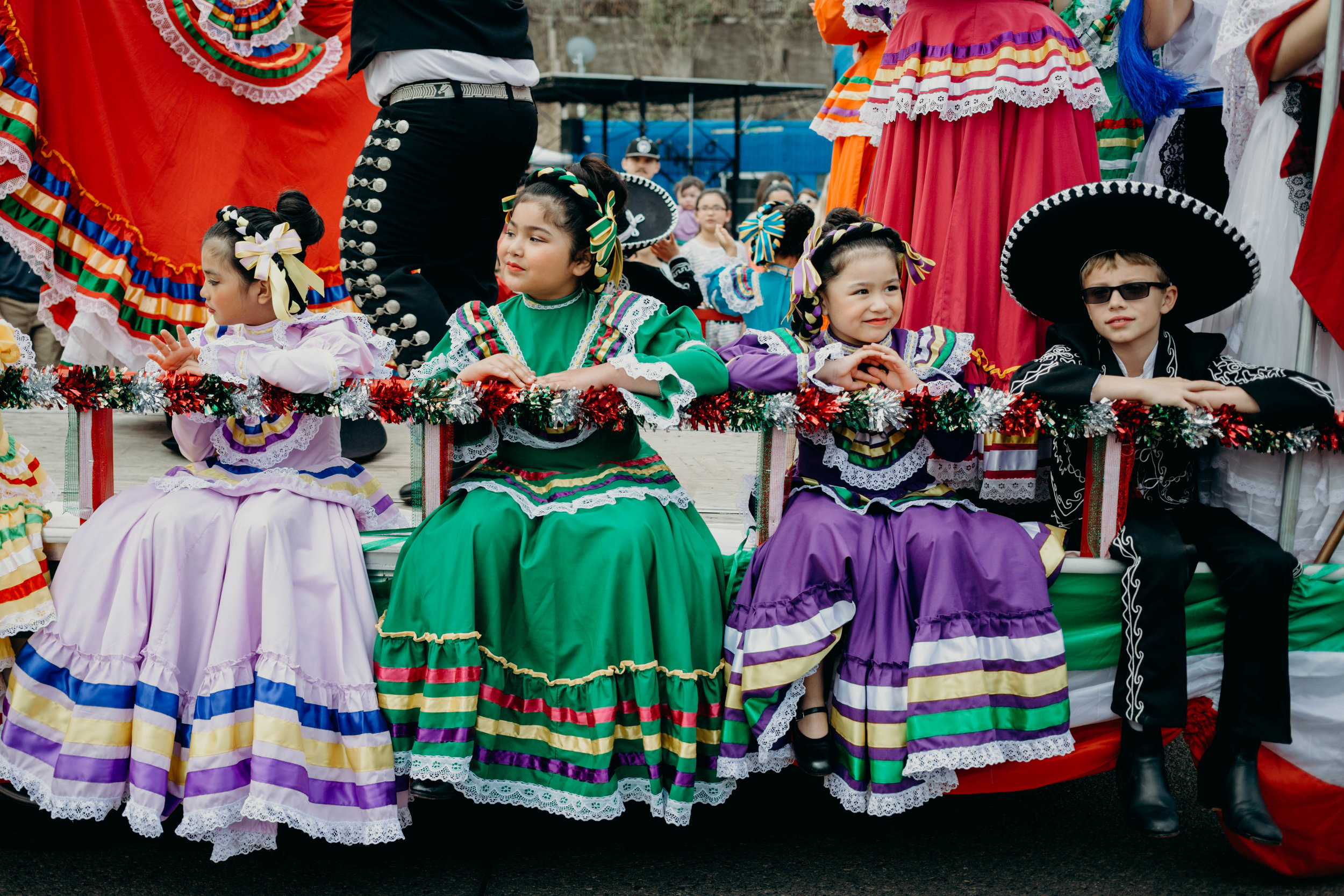 These days the US Mexican Americans celebrate their culture on Cinco de Mayo - The bright colors and excellent food and drink make this holiday a jubilant for all who partake.