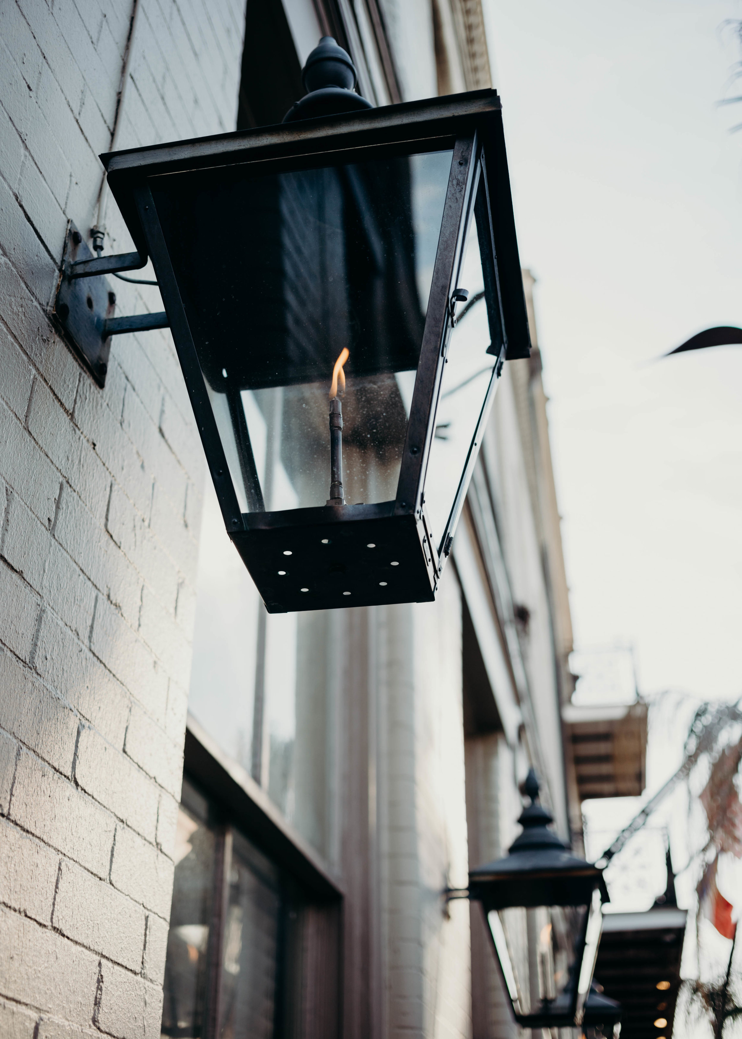 The French Quarter has lost none of its charm. - Lit by gas lamps and surrounded by ornate steel balconies, the iconic neighborhood is easy to fall in love with.