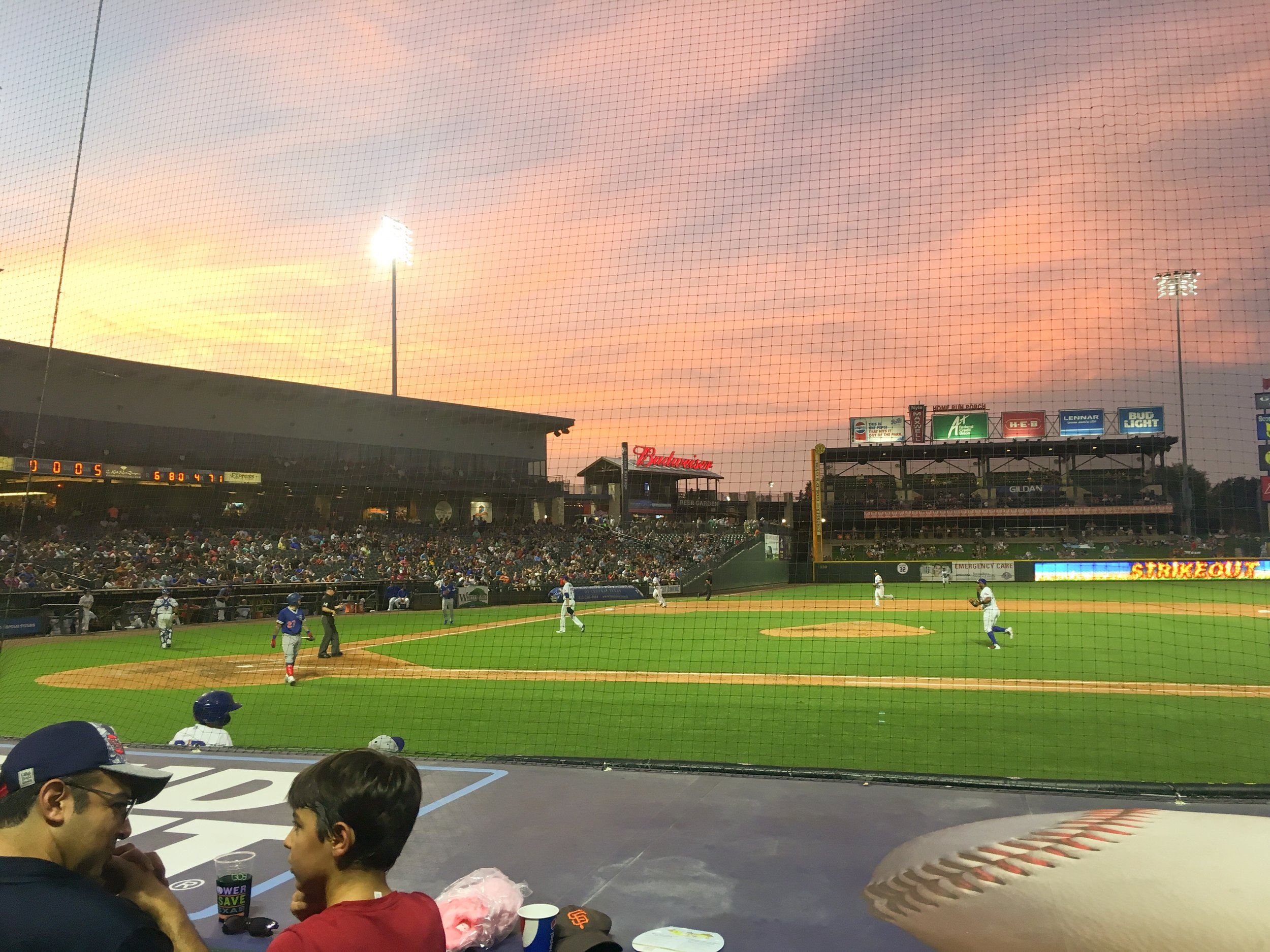 15. Take Yourself to a Ball Game - Hit up the Dell Diamond stadium to catch the Express.