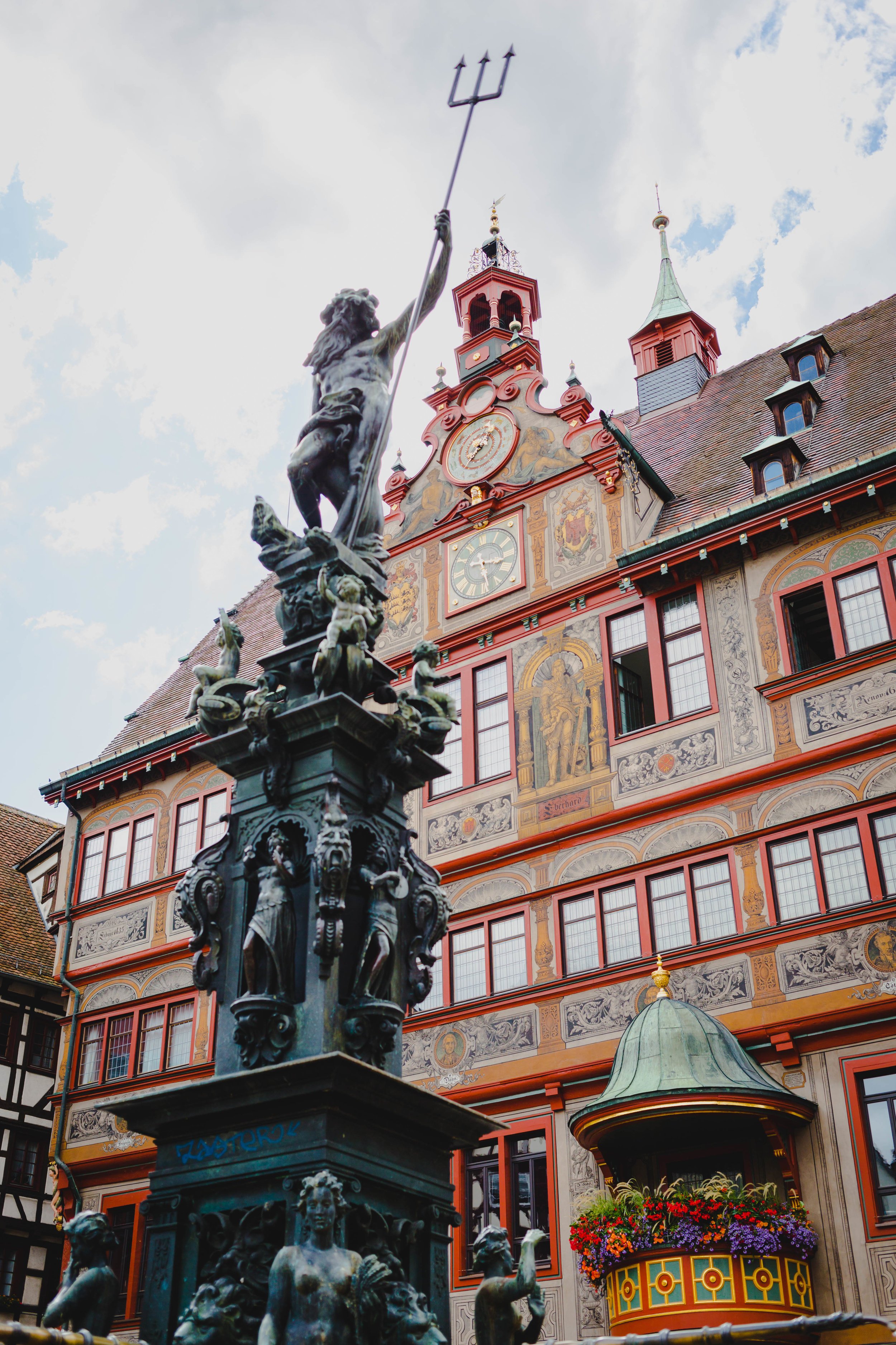 2. Town Hall - This majestic building is a masterpiece, located in the heart of the town square.