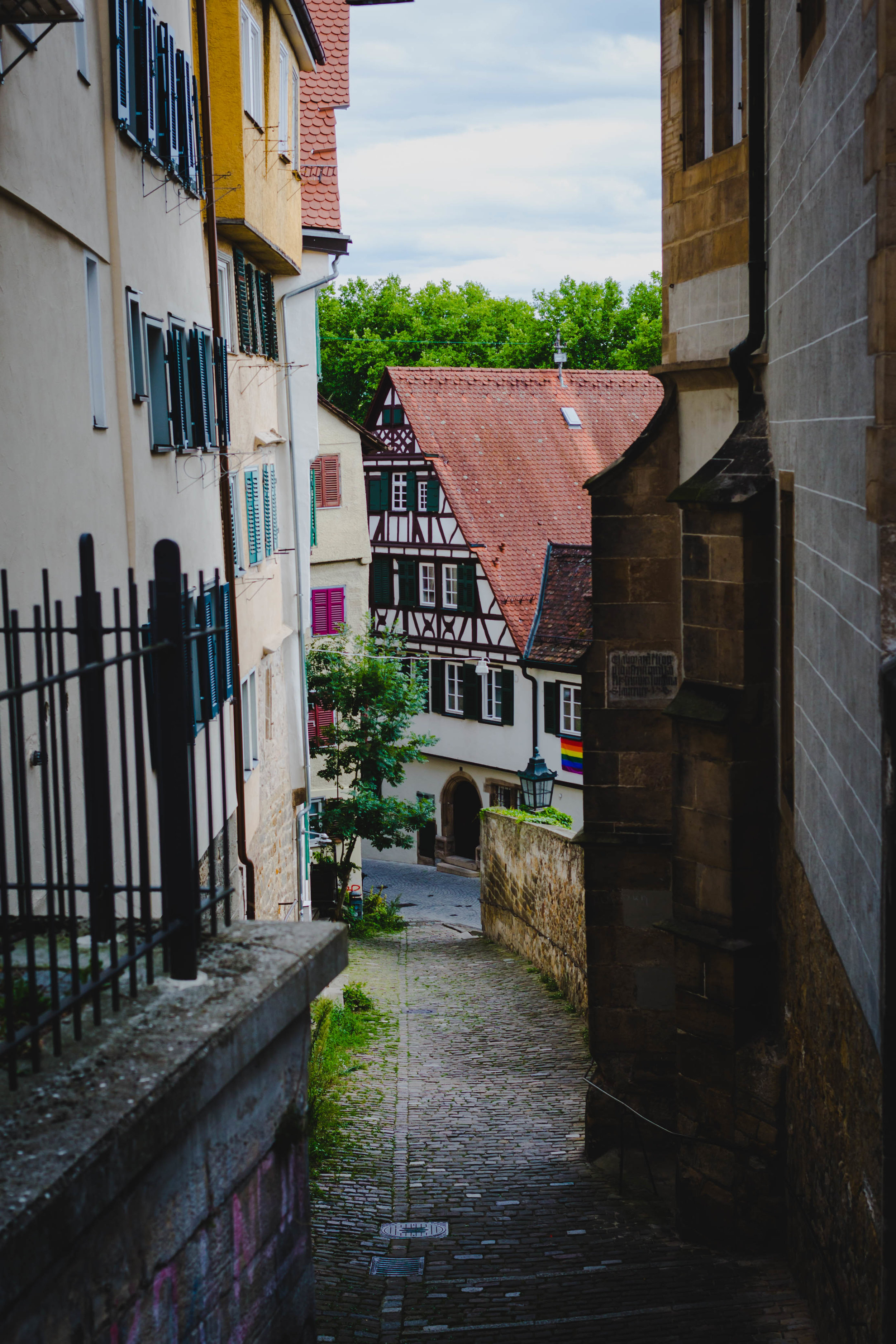 4. The Altstadt - Wonder around the winding, narrow, cobblestone streets of the Old Town and marvel are all the beautifully painted half-timber homes.