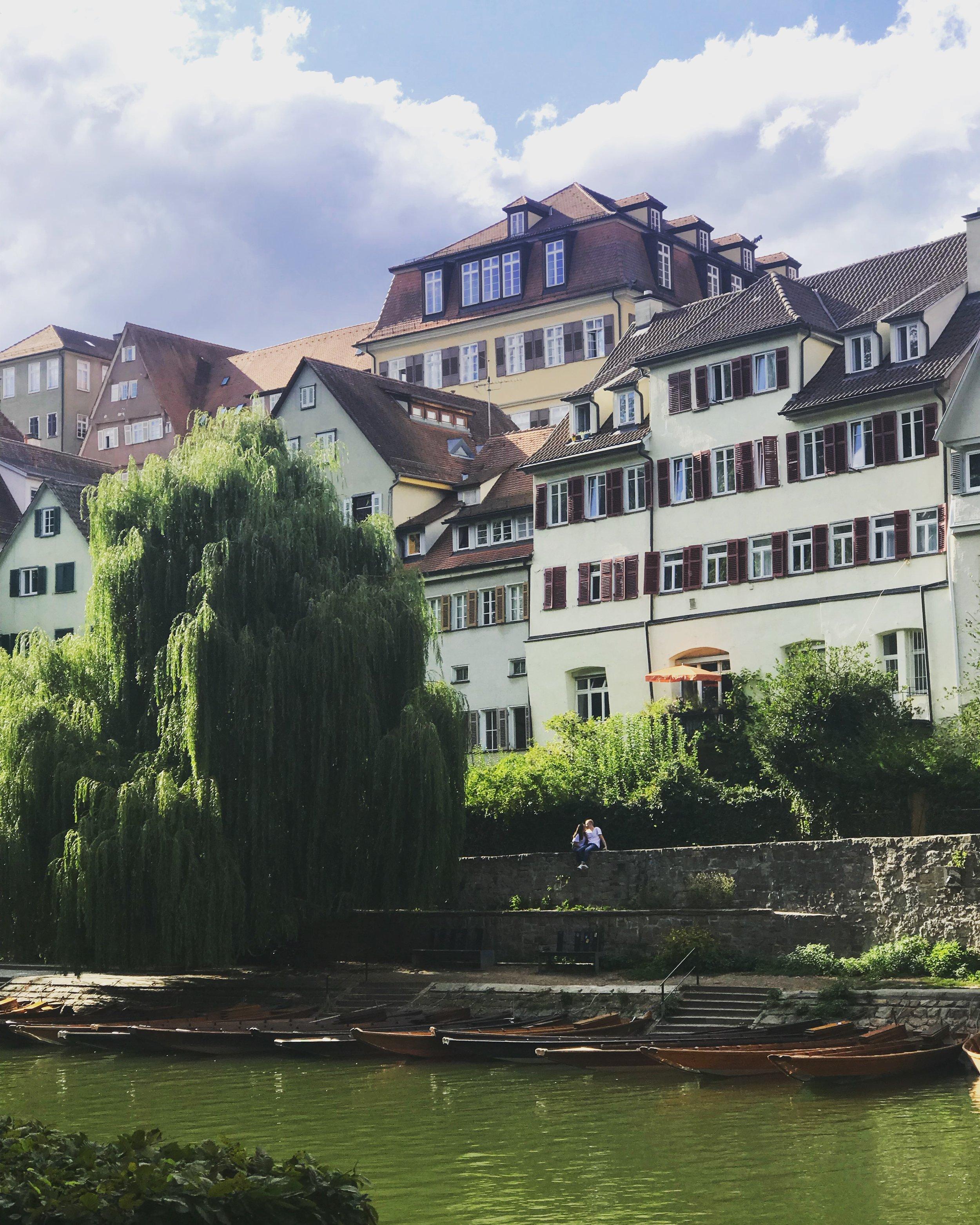6. Neckar Island - Pack a picnic and take a nap under the trees on Neckar Island or walk the beautiful Plane Tree Avenue.