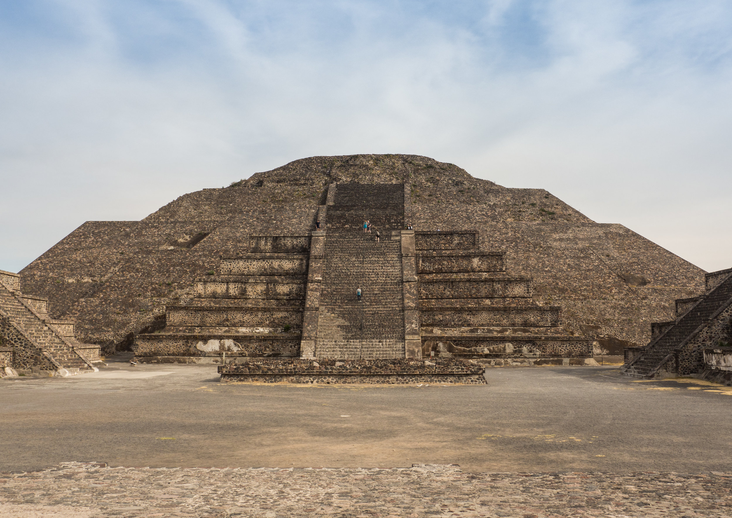 Pyramid of the Moon, Teotihuacan, Mexico photo by PaShia Lee