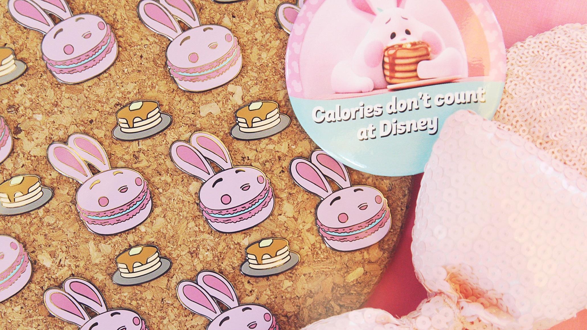 bunny gets the pancake pin set