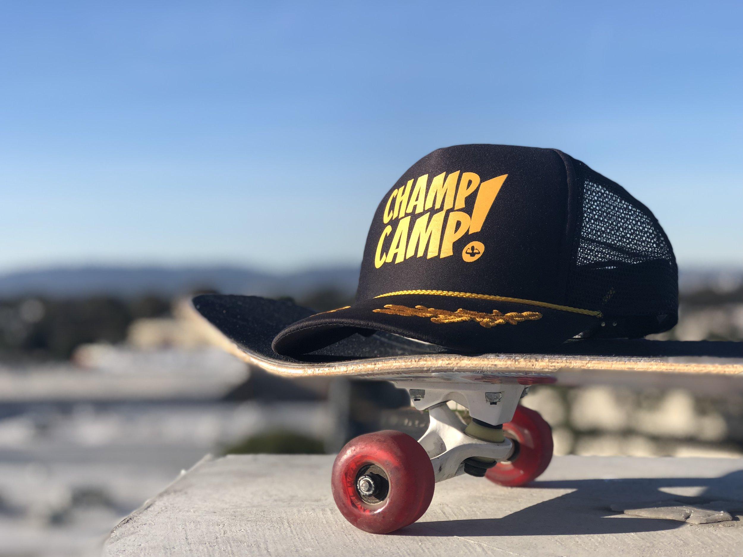 Champ SKATE Camp - A comprehinsive instructional skateboard camp experience in El Segundo, California!