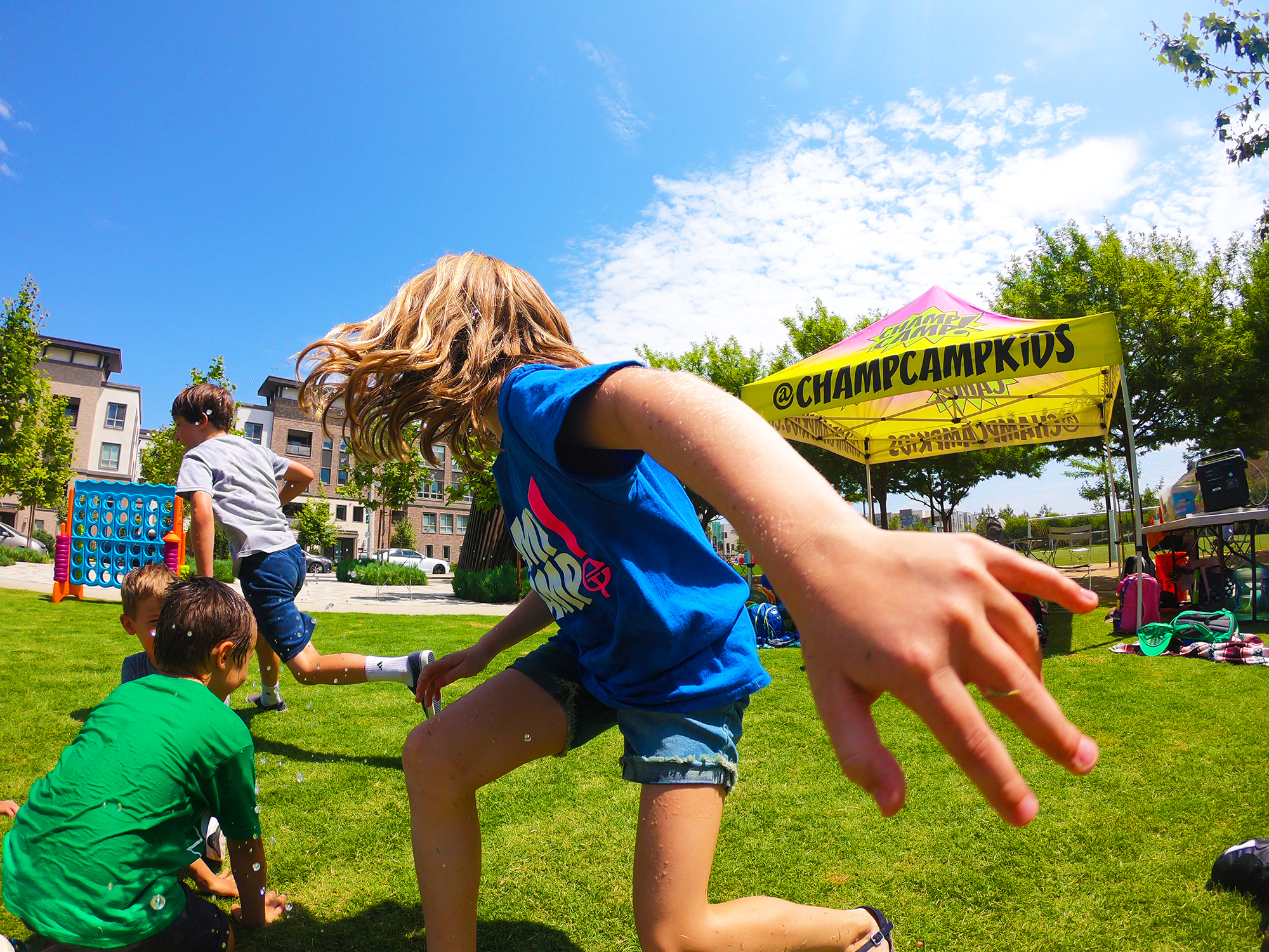 ATTN: PLAYA VISTA - YOUR KIDS' AFTERNOONS ARE ABOUT TO GET A WHOLE LOT CHAMPIER! Beginning FALL 2019, We'll be offering afternoon camps to Playa Vista Elementary Students, and the surrounding community! Peek below to find out how to add a little extra play to your kid's (after school) day!