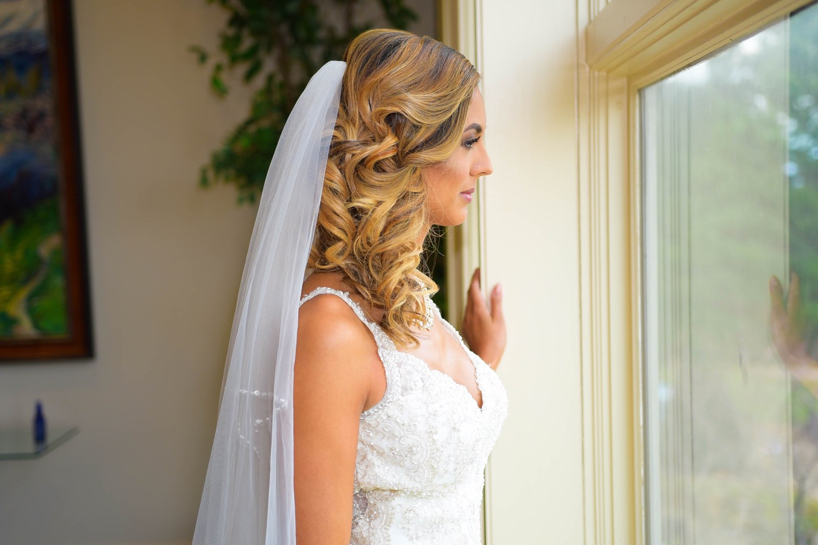 """""""Kristina is wonderful! She is very professional and so sweet! All my questions and concerns were promptly answered. I made a slight adjustment to my hairstyle the day of my wedding and she still did an amazing job. My bridesmaid and I were very pleased with her :) I highly recommend Kristina!"""""""