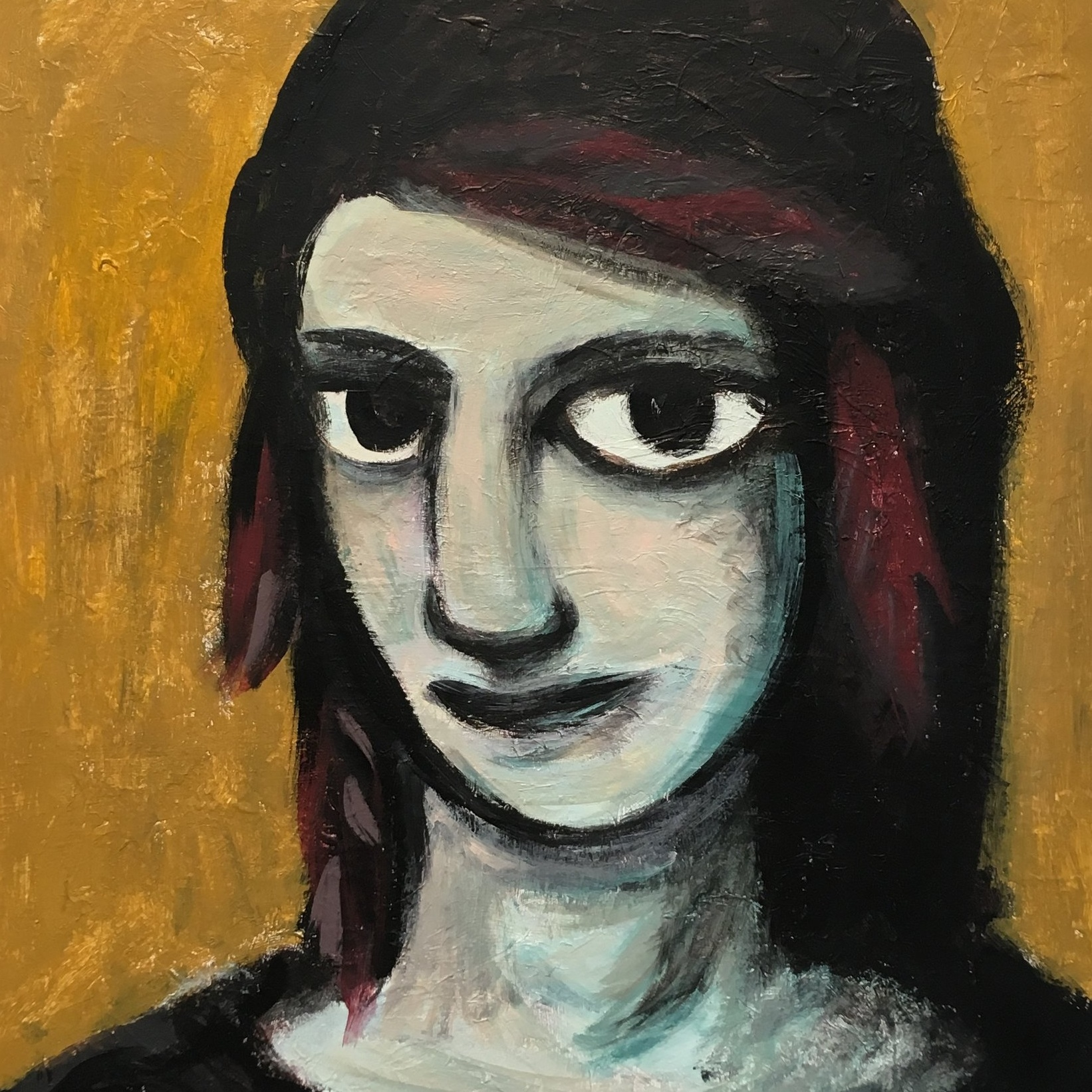 """Goth"" Teen Painting, which I dislike…"