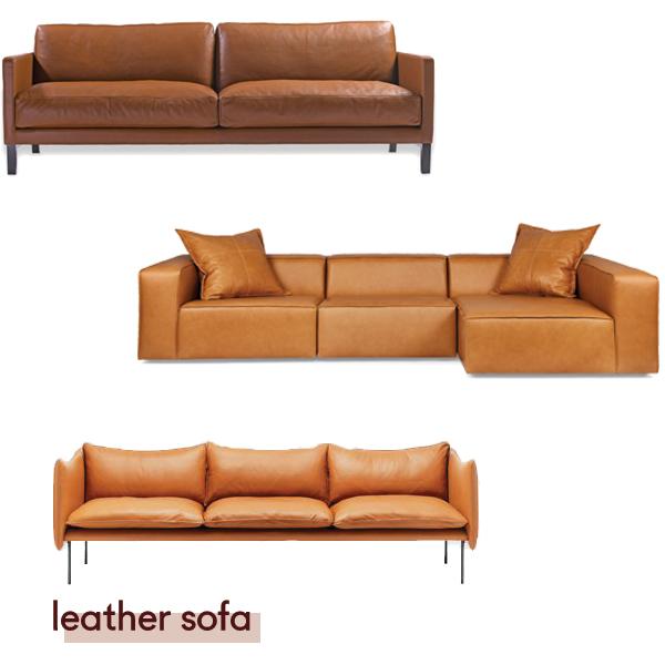 Centquatre sofa from  Domo , Dawson from  Arthur G , Tiki from  Fred International