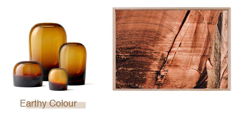 Troll Vase by Menu Medium  $129 . After-Room series 'Red Planet' by Maegan Brown  $1815