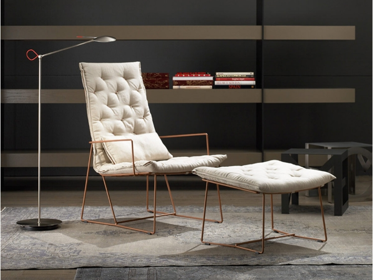 Impossible to choose a favorite from Ajar, but this Syrma armchair is up there. It's cushioned and comfortable, but not heavy.