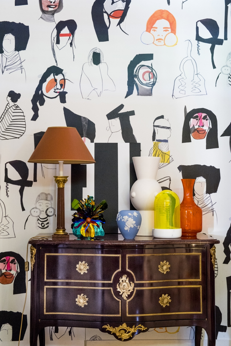 The fabulous fabric house Maison Pierre Frey always is an expression in travel and art - and the unexpected!