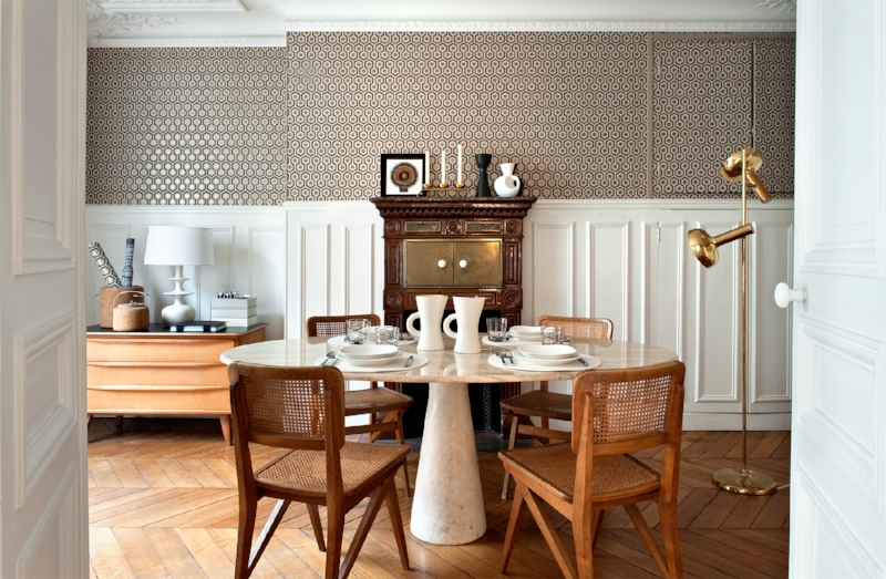 Apartment belonging to designer Emilie Bonaventure