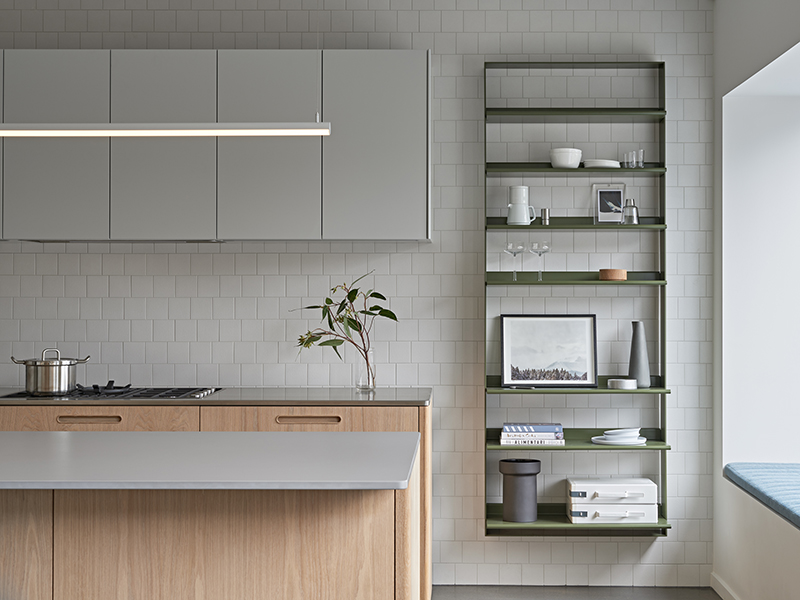 The Tableau kitchen designed by  Cantilever  and  DesignOffice . Photo – courtesy of  Cantilever .