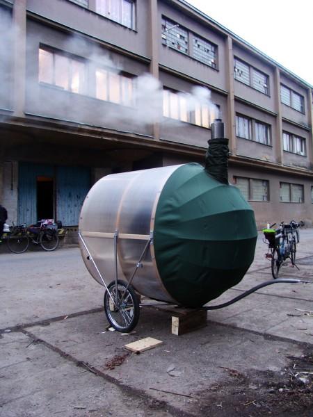 H3T Architekti's  CykloSauna