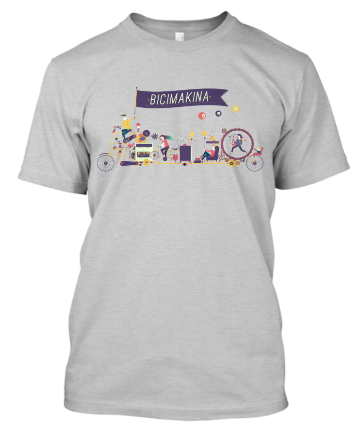 The official t-shirt! - Comes in Heather Gray in Unisex, Women's, and Bella+Canvas Slouchy