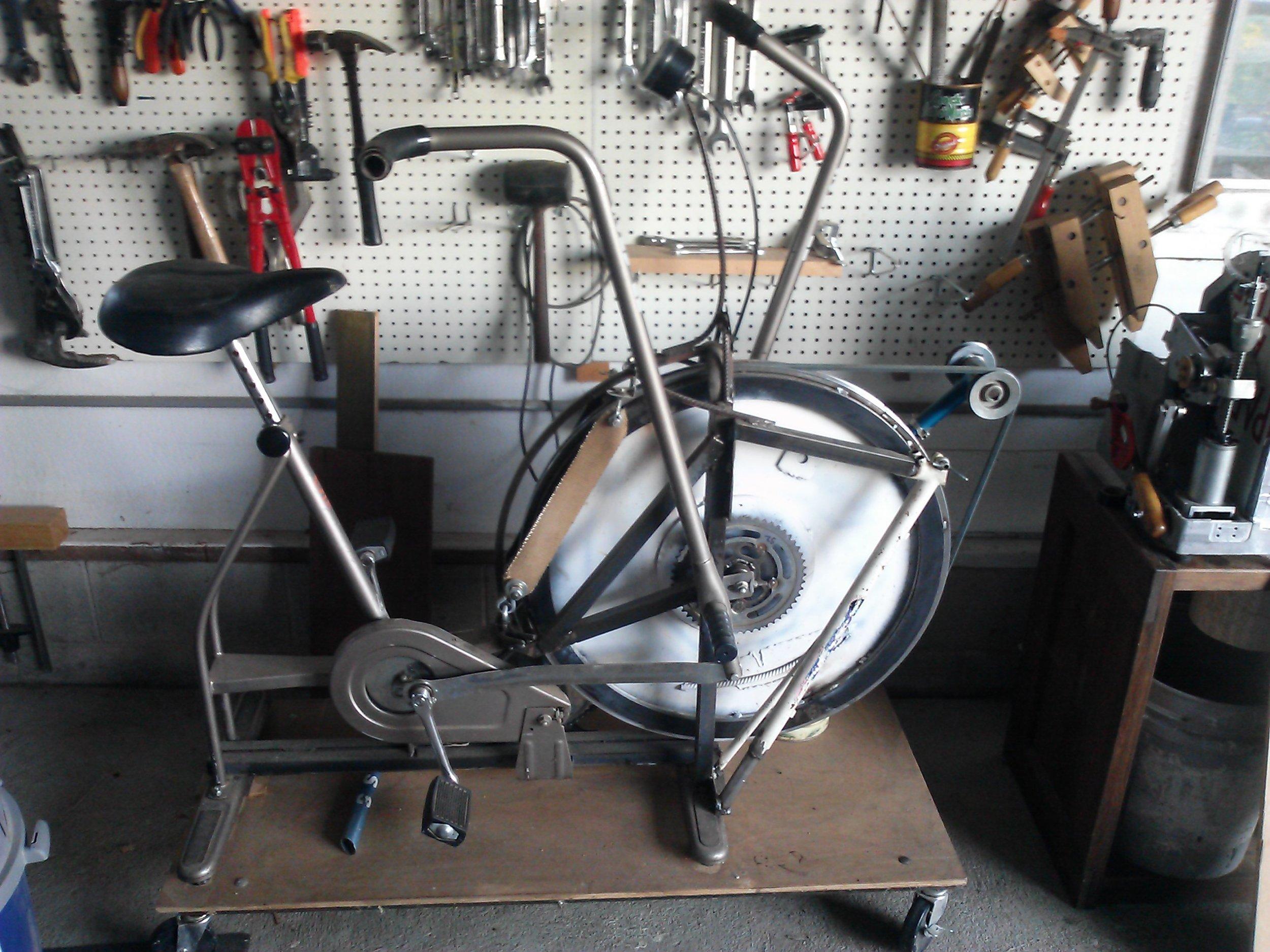 featherwood frames flex shaft bike