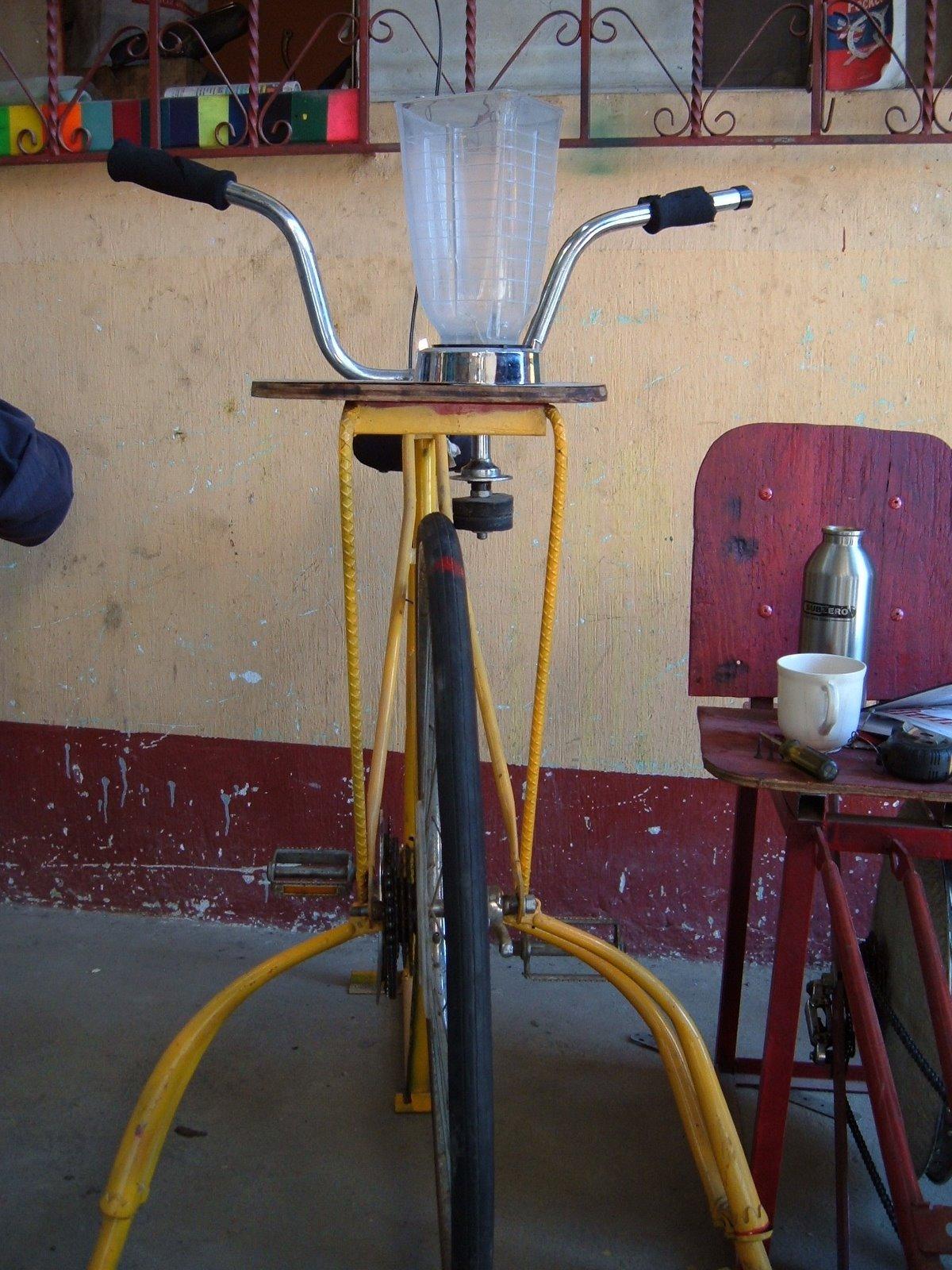 Maya Pedal bike blender