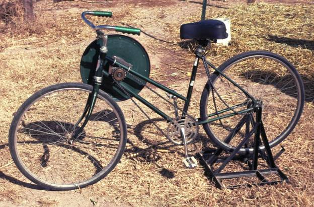 The Dual Purpose Bicycle by Dr. Job S. Ebenezer, President, Technology for the Poor