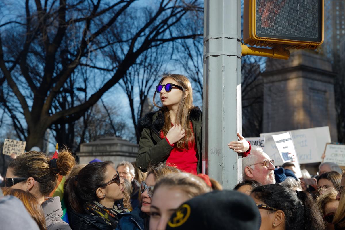 Women's March, Midtown Manhattan, January 20, 2018