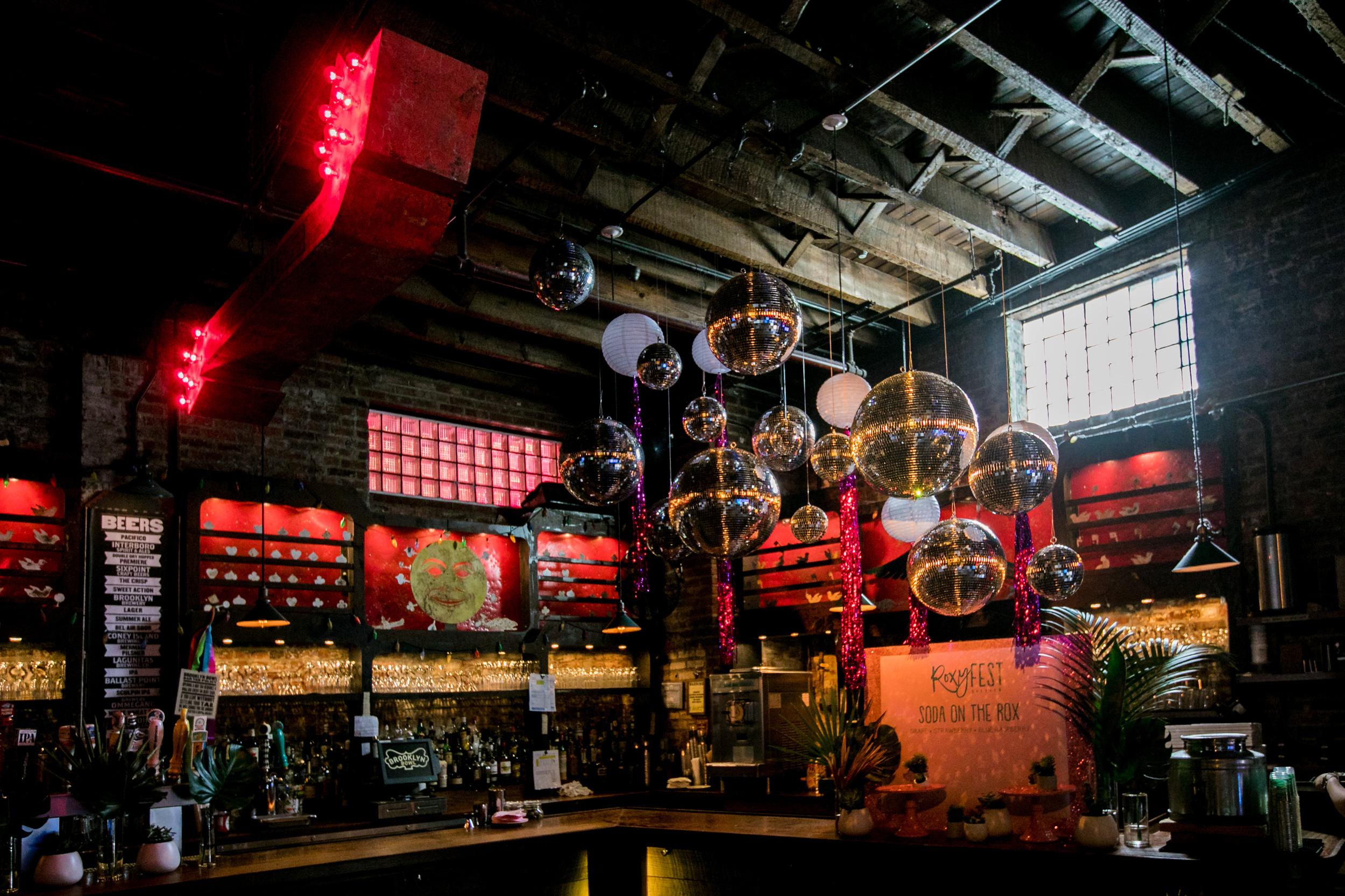 Event Design & Fabrication : Brooklyn Bowl Roxyfest
