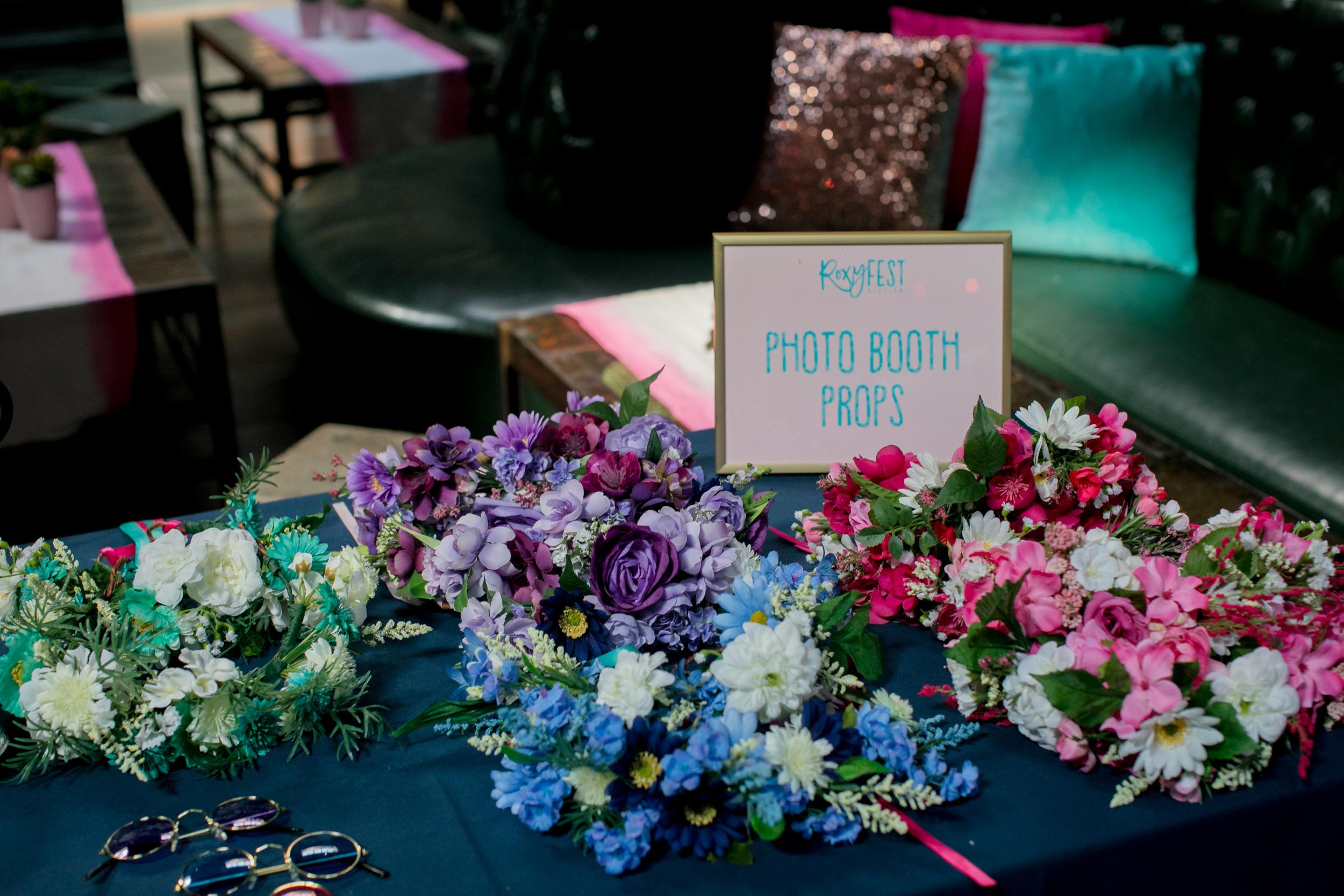 Event Design & Fabrication : Brooklyn Bowl Roxyfest Custom Flower Crowns