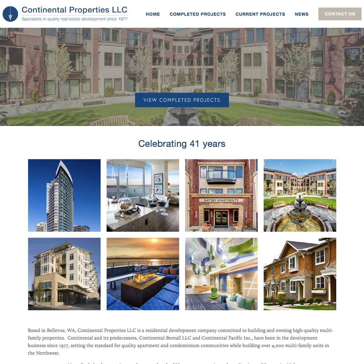 Continental Properties