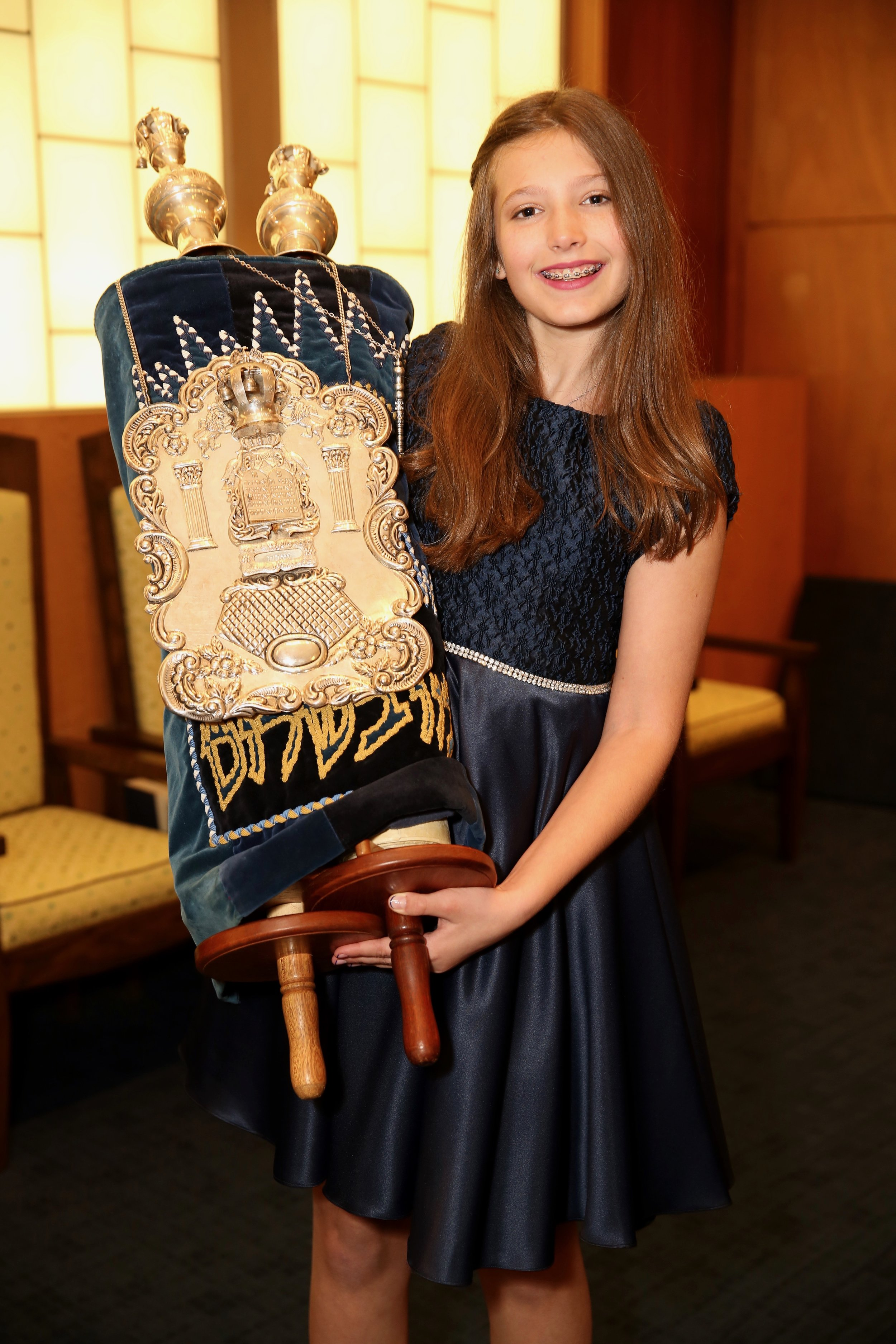 Bat Mitzvah Service at Temple Israel of Northern Westchester, New York
