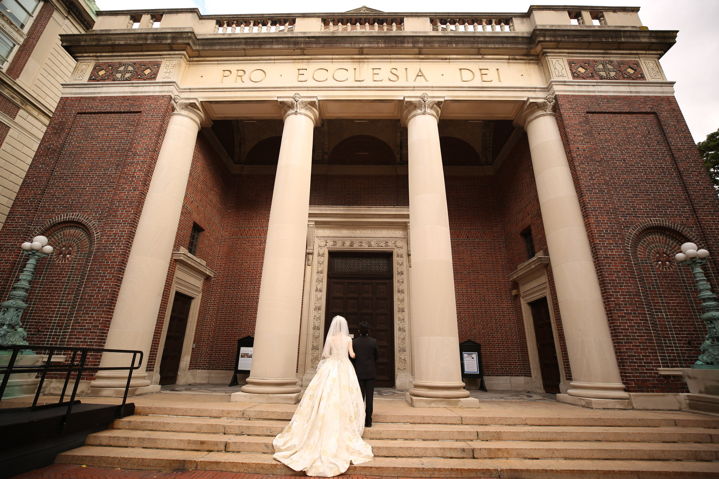Columbia University Wedding at St. Paul's Chapel, New York