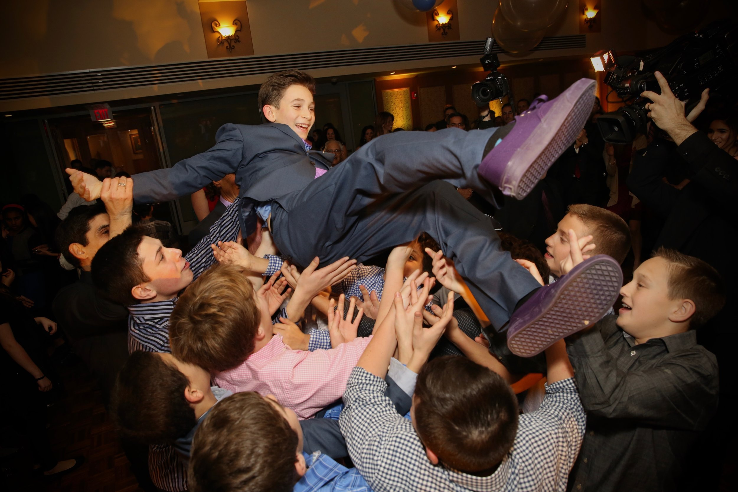 Bar Mitzvah Celebration at Temple Beth El of Great Neck