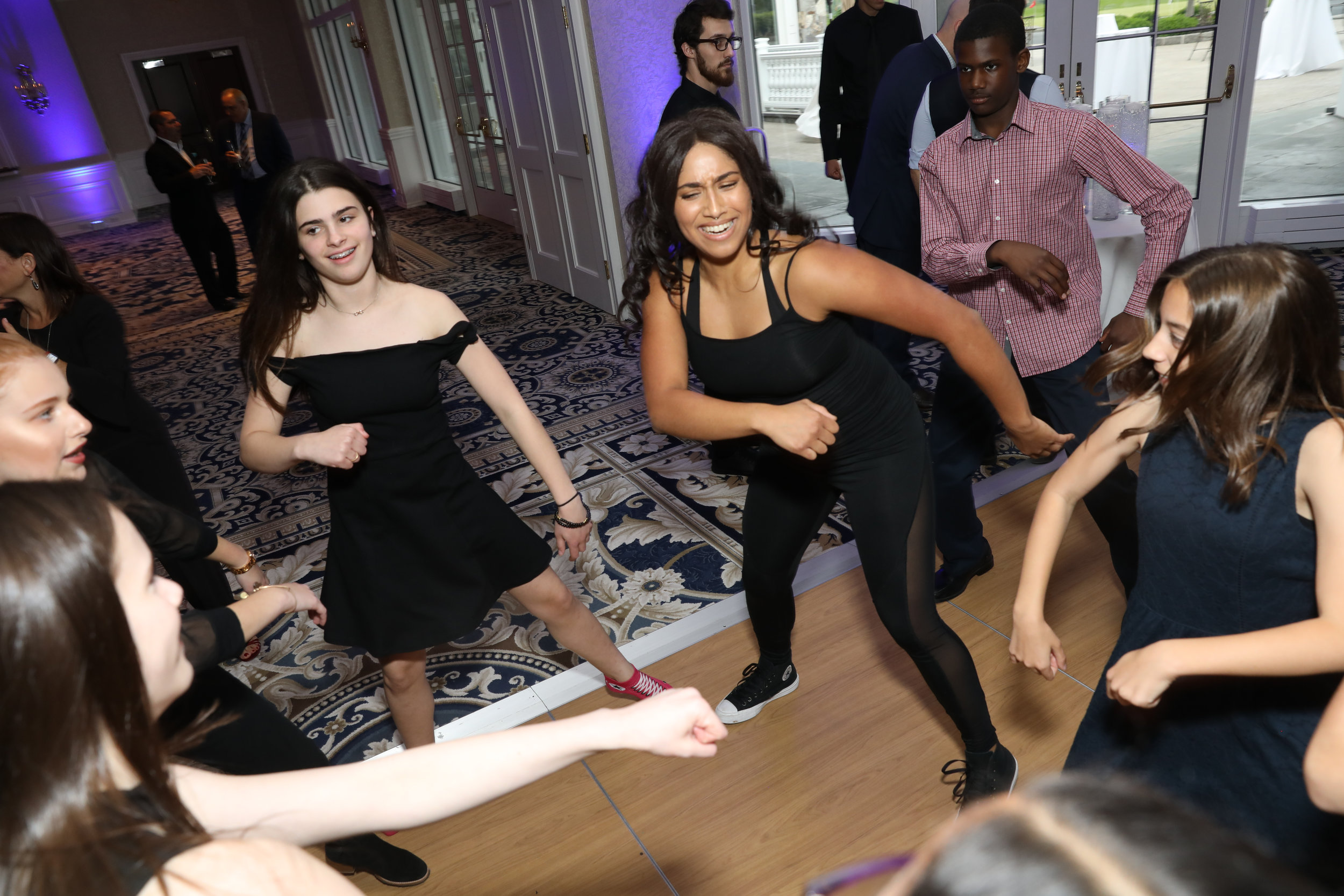 Dancer Motivator Action @ Bar Mitzvah