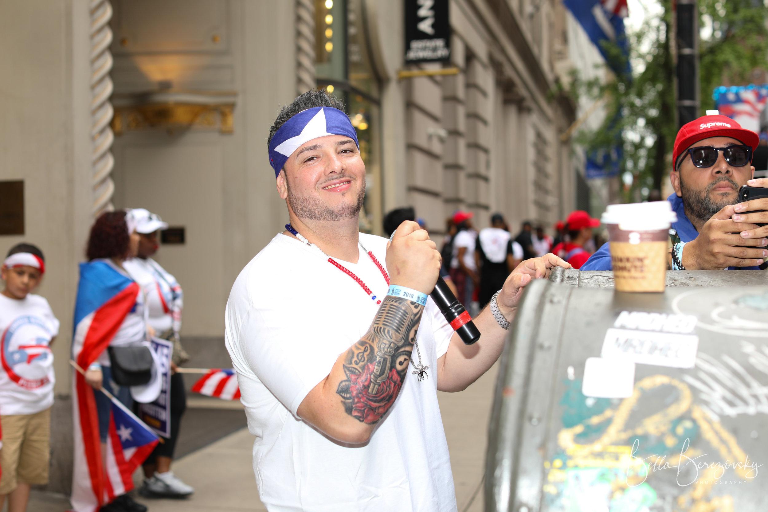 MC @ Puerto Rican Day Parade 2018