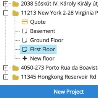 NUMBER OF FLOORS ARE UNRESTRICTED - You can add any floors to your project, you might even plan a scyscraper.