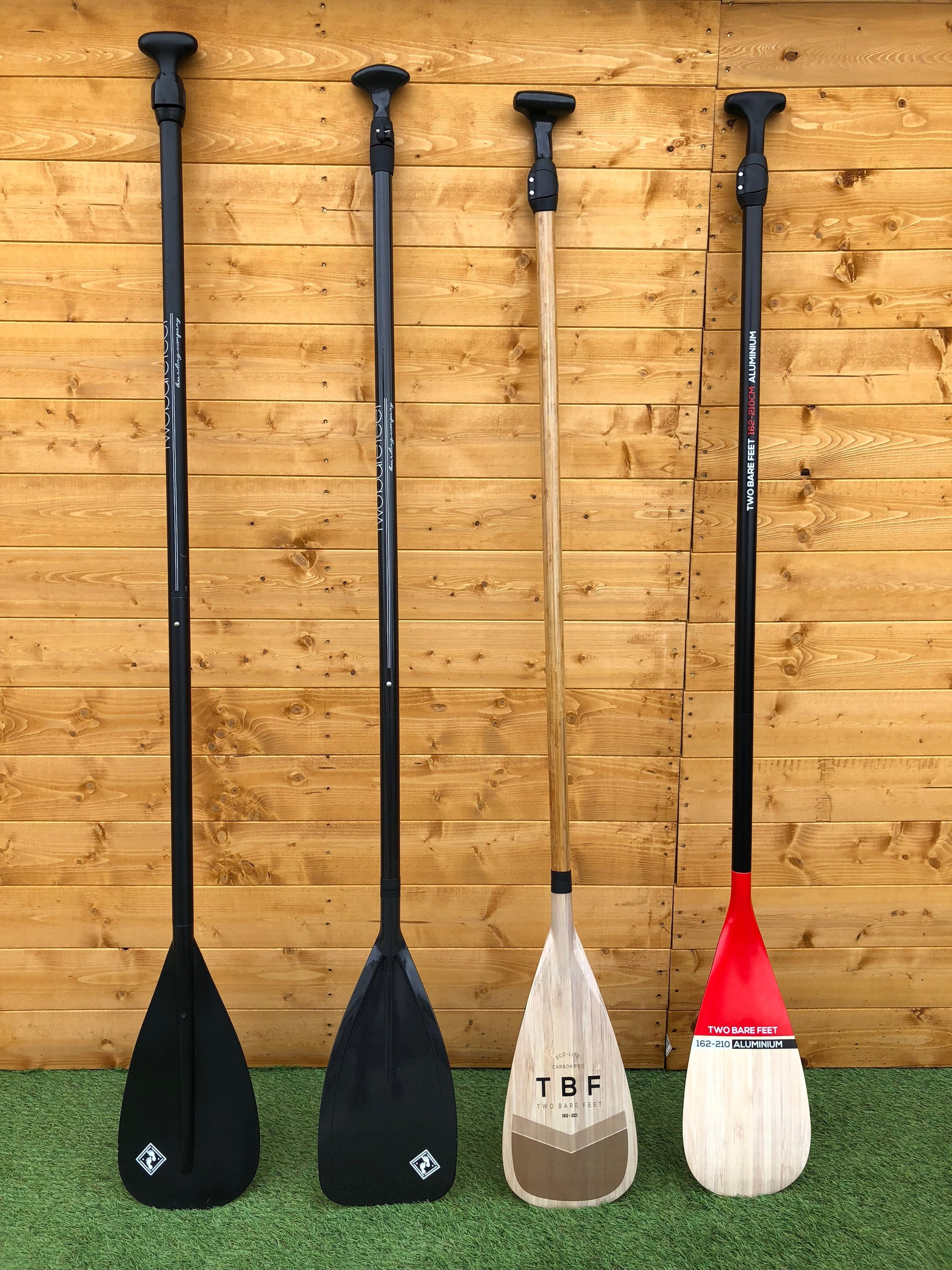 Paddles - We stock a whole range of paddles, including graphic and full carbon fibre paddles