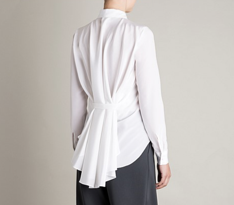 White Bianca Spender blouse