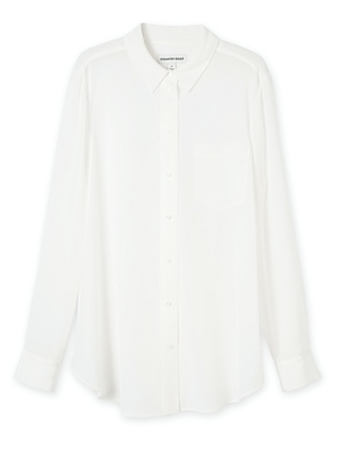 Country Road white blouse