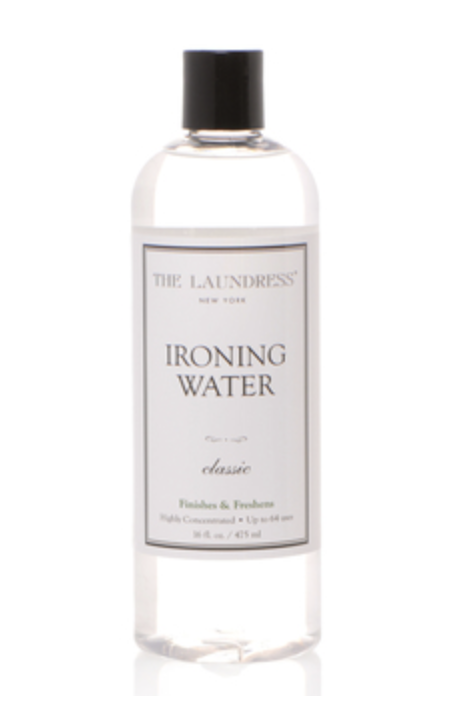 The Laundress ironing water