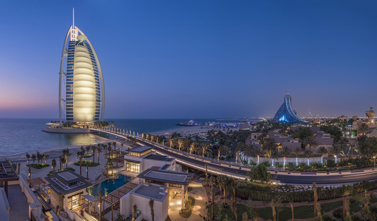 Burj Al Arab Panorama view