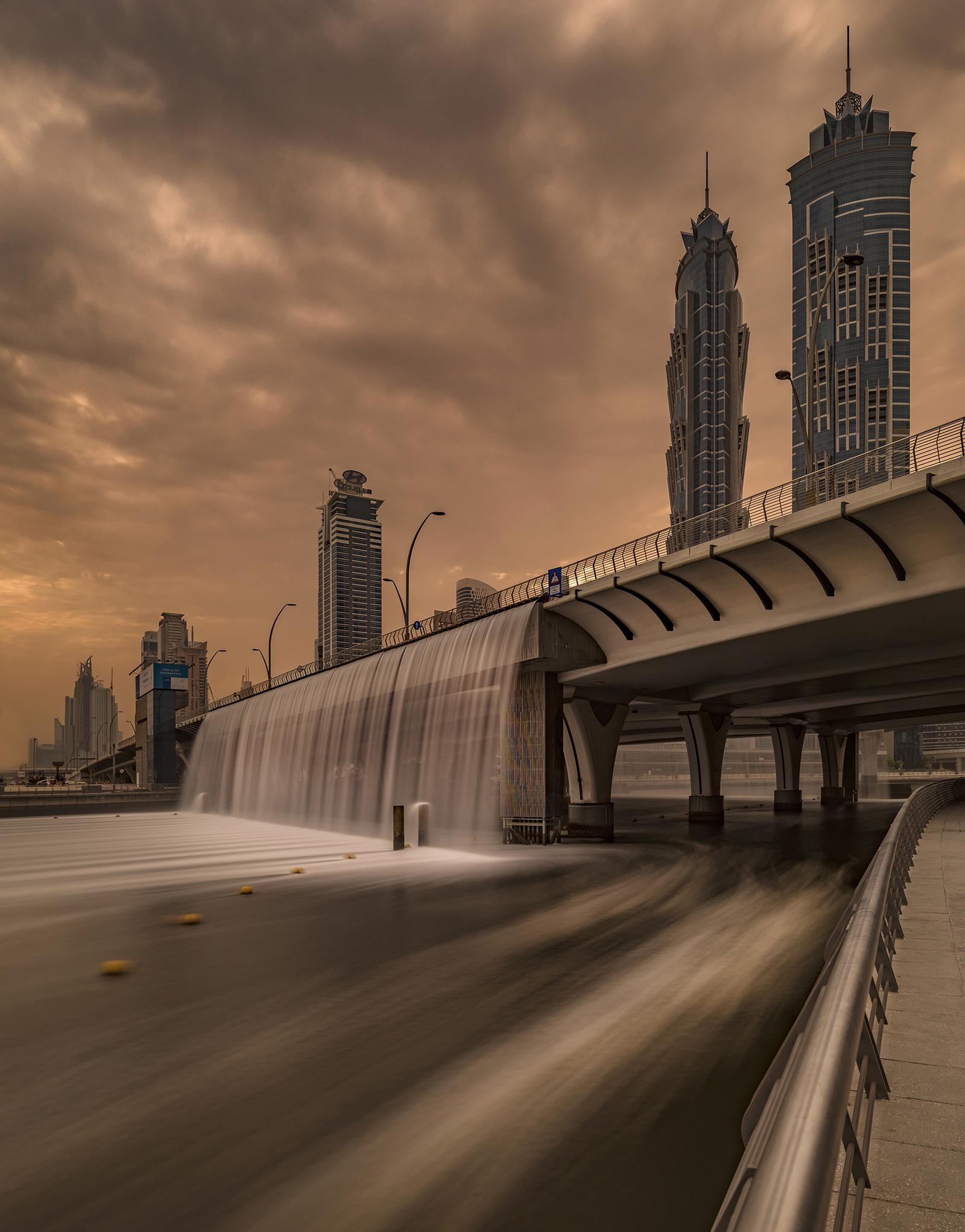 The Dubai canal