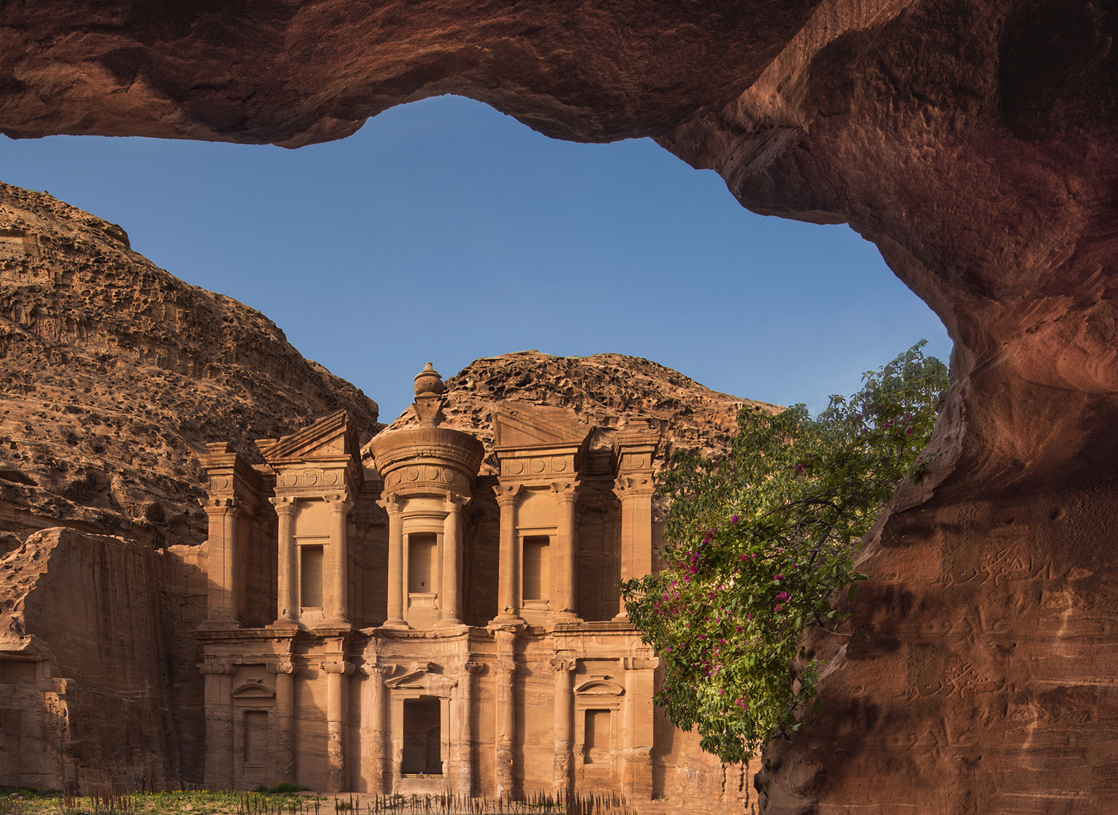 Monastery framing