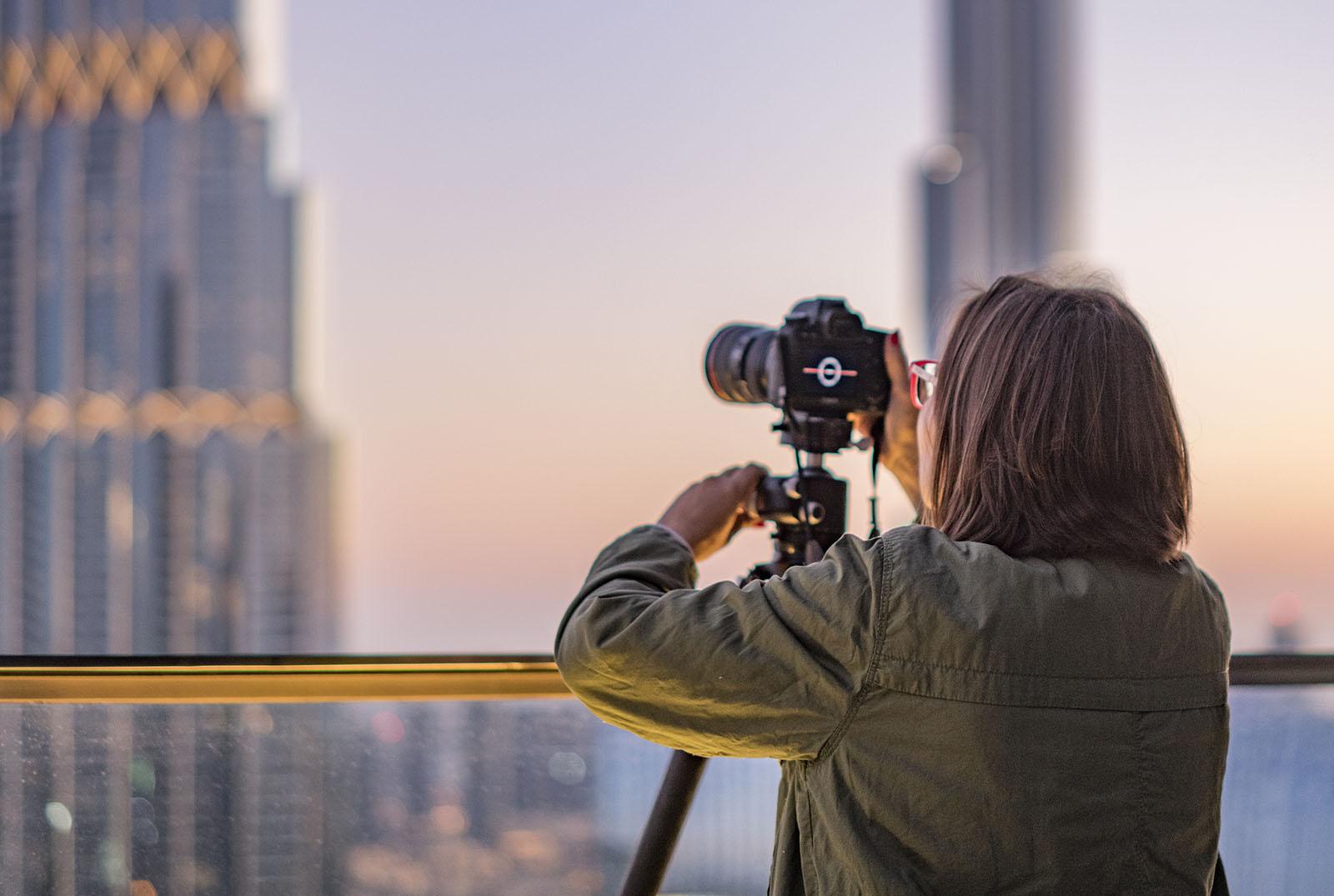Dubai rooftop photography workshop