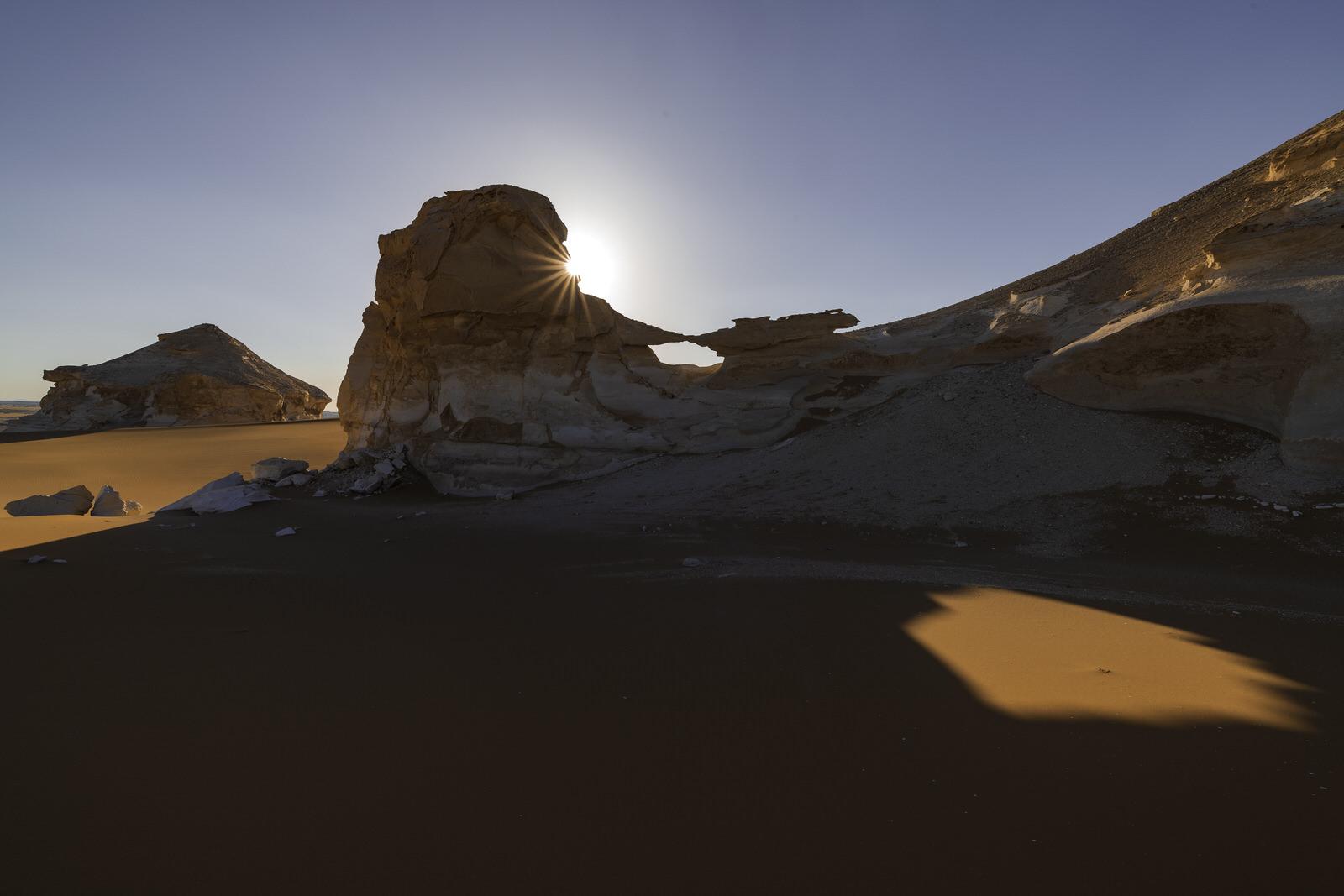 Sunset at the western desert, Egypt