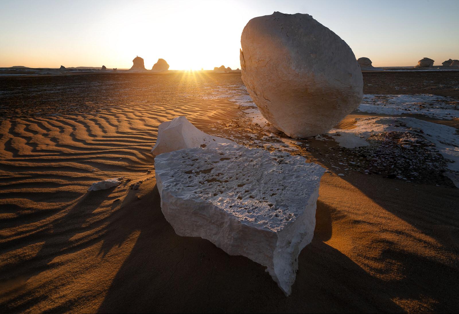the Egyptian western desert
